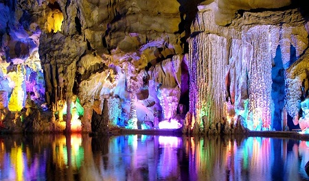Benxi cave in China