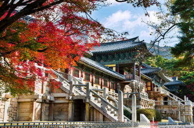 Bulguksa Temple in Korea