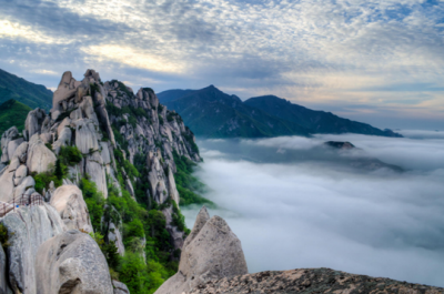 Seorak mountain in Korea
