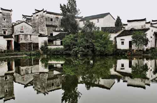 Zhuge Bagua Village in China