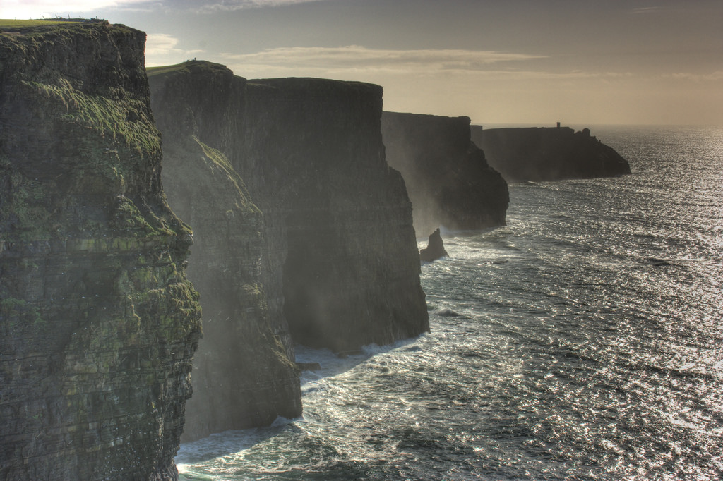 Cliffs of Mohers in Ireland