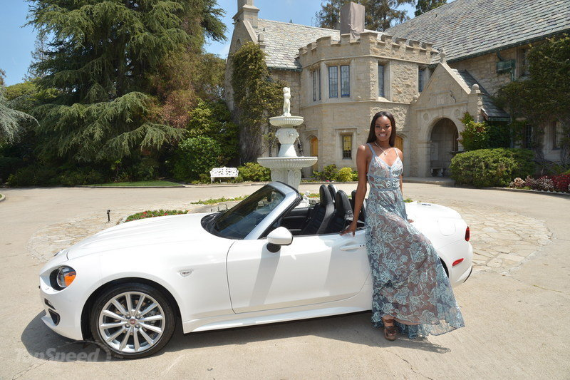 Playboy's 2016 Playmate Of The Year Receives New Fiat 124 Spider-3