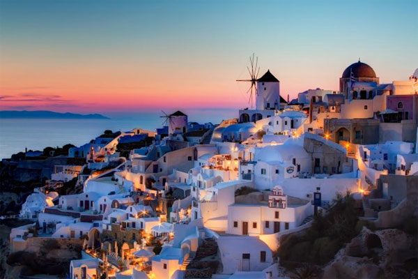 Santorini is a island of Greece