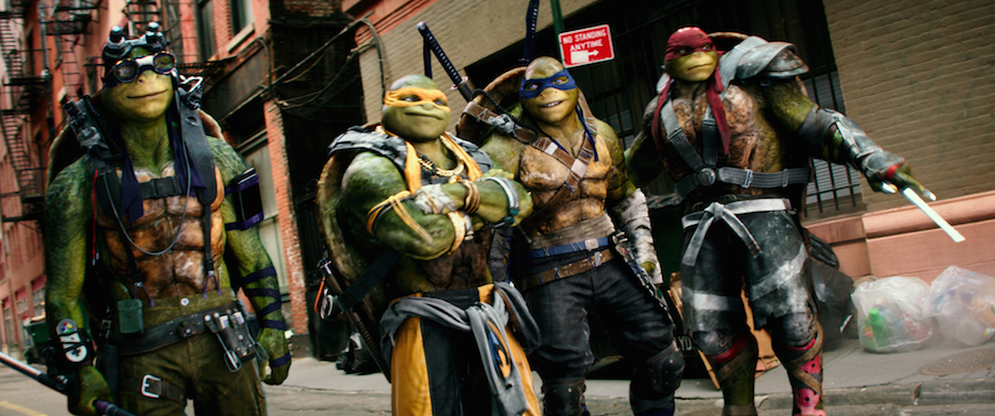 Teenage mutant ninja turtles 2016