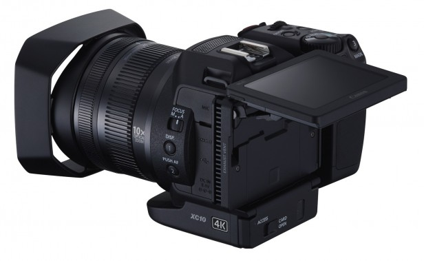 4K Camcorder: Canon XC10  review - Different with other Cinema EOS