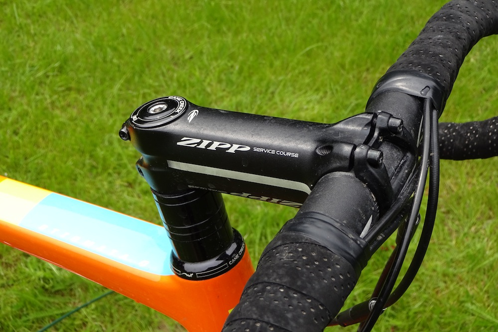 Santa Cruz Stigmata Review - Bars, stem and seatpost are from Zipp