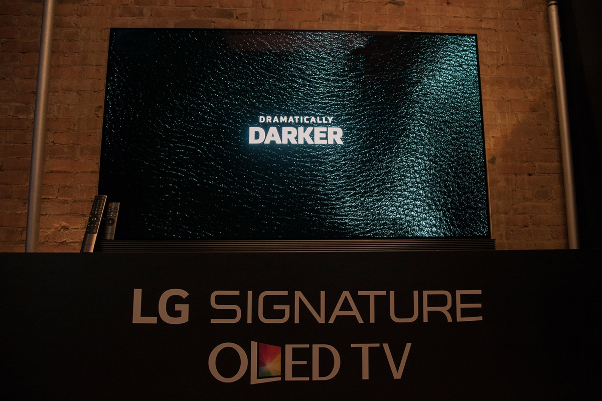 LG G6 SIGNATURE OLED 4K TV REVIEW