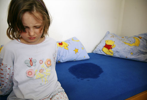 Bedwetting in kids