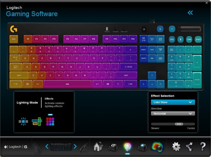 Logitech G810 Orion Spectrum (Colors)